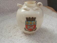 VINTAGE GOSS MODEL OF AN ANCIENT JAR EXPORT MODEL CRESTED VILLE DE ROUEN