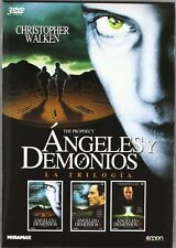 ANGELES Y DEMONIOS---DVD trilogia angeles y demonios-- NUEVO Y PRECINTADO