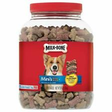 Milk-Bone Mini's Flavor Snacks for Dogs of all Sizes Biscuits 36oz