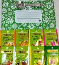 Twinings Variety Selection Christmas Pack 8 Flavours. 65 Enveloped Tea Bags