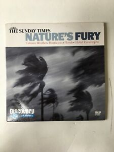 Discovery Channel Nature's Fury DVD 1998 4 Episodes