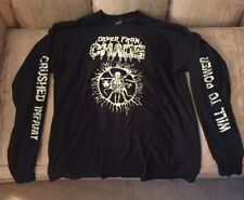 Vintage 1991 Order From Chaos Long Sleeve T Shirt Xl Venon Bolt Thrower Slayer