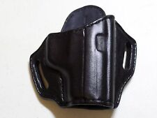 "Sig Sauer P229 / P228 / M11-A1 ""No Rails"" HANDMADE LEATHER HOLSTER OWB Black"