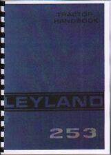 "Leyland ""253"" Tractor Operator Manual Book"