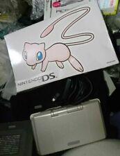 Nintendo DS Pokemon Center MEW Edition Console *COMPLETE - SCREENS EXCELLENT*