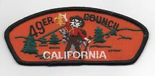 49er (Forty-Niner) Council (California) T-2 CSP, Second Issue, Gold FDL, Mint!