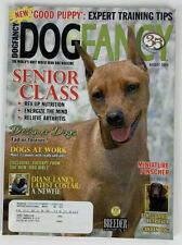 August 2005 Dog Fancy Magazine Miniature Pinscher Canaan Float Coated Retriever