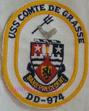 PUS435 - US NAVY USS COMTE DE GRASSE DD-977 PATCH
