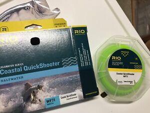 RIO Coastal Quickshooter 7wt WF Intermediate Fly line Clear head Cold Saltwater
