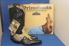 Prime Boots  cowboystiefel westernstiefel neu handmade  gr. 41 python white