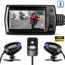 MT011 Wide Angle Dual HD 1080P GPS Wifi Motorbike Dash Camera DVR Loop Recording