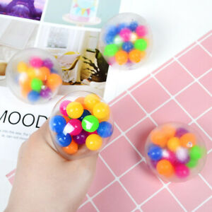 1/3PCS Sensory Stress Reliever Ball Toy Autism Squeeze Anxiety Fidget Toys 6cm