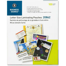 Clear Letter Laminating Pouches 9 X 115 100pk 5 Mil Bsn20862 Scotch Quality
