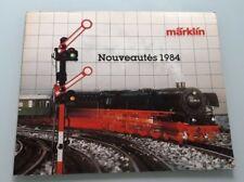 CATALOGUE MARKLIN 1984  - TRAIN ELECTRIQUE HO 1/87