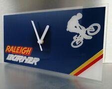 Lightweight Raleigh team aero pro burner BMX stunt bike wall clock 300x150x2mm.