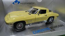 CHEVROLET CORVETTE 327 STING RAY 1/18 Motorbox EXOTO MTB00014 voiture miniature