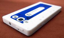 White Cassette Tape Case Cover SAMSUNG GALAXY S III 3 S3 SIII Sprint Verizon ATT