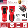 Electric Beard Face Nose Trimmer Whal Men's Shaver Razor Self Sharpening Blades