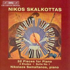 Nikos Skalkottas - 32 Pieces for Piano (Samaltanos) [CD]