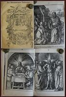 Das Oberammergauer Passionsspiel um 1880 Holzschnitte von Dürer Theater Bayern