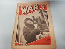 The War Illustrated No. 63 Vol 3 1940  ATS Crete Palestine Turkey Zoo