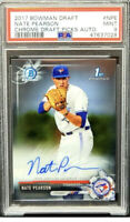 2017 1st Bowman Chrome AUTO Jays NATE PEARSON Rookie Card PSA 9 MINT