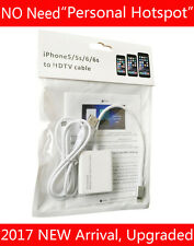 Video Adapter For iPad Air Mini Pro iPhone 7 6 6S Plus 5 to HDMI HD TV Projector