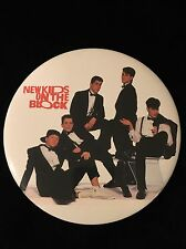 Vintage New Kids On The Block Giant 6 Inch Button-Nkotb-Unused White Background