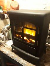 Focalpoint Electric Black Flame Effect Log Fire