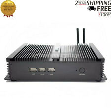 Mini Pc Desktop Soft Route Embedded Industrial Computer (1007U Barebone System)