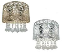 Seattle Ceiling Light Shade Metal Cut Acrylic Droplets Pendant Lampshade 25cm