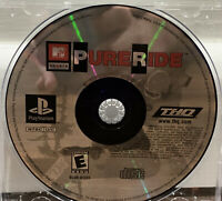 MTV SPORTS PURE RIDE PlayStation PS1 Black Label (disc only)