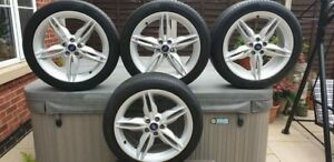 """4/FOUR 19"""" INCH FORD KUGA TITANIUM ALLOY WHEELS AND TYRES."""