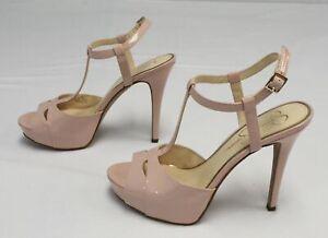 Jessica Simpson Women's JS-Barretta High Heel RH8 Ballerina Pink Size US:8.5M