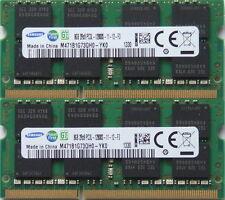 Samsung 16GB Kit ( 2 x 8GB ),DDR3 PC3L-12800, 1600MHz for 2011/2012 Mac mini's
