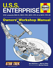 USS Enterprise Manual (Star Trek) Haynes (Hardcover)
