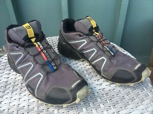 Salomon Speedcross 3 Trail-Running Shoes - Men's US 12, EU 30, Used In Fair Cond