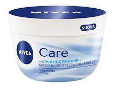 3 PZ. NIVEA CARE CREMA NUTRIMENTO PROFONDO VISO CORPO BELLEZZA SALUTE 400 ML CAD