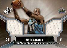 Kevin Garnett 2005-06 SPx Winning Materials #KG   Wolves All-Star