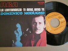 DOMENICO MODUGNO La Lontananza SPAIN 45 1970 NM