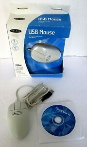 NEW Belkin USB Mouse F8E813-USB for PC For Older Computers Win 98 -XP Plug n Pla