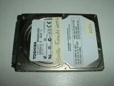 Disque dur SATA TOSHIBA 500Go 2,5 pouces pour portable (4650)