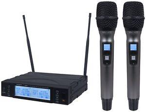 Q Audio Qwm1960 HH V2 Twin Uhf Handheld Version