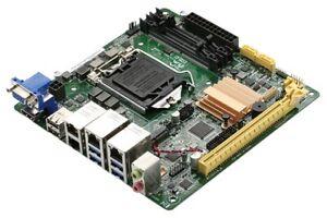 Aaeon MIX-H310A1-A10-4L, Mini-ITX Mainboard, Intel Quad-GLAN, Firewall Board