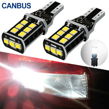 6000K White Canbus LED Bulb For Auto Car Backup Reverse Light 912 921 T15 W16W
