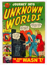 JOURNEY INTO UNKNOWN WORLDS #7 ATLAS WOLVERTON ART 1951