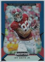 2019 Prizm Draft Picks #125 Irv Smith Jr. Blue & Red Rookie Card Alabama TE