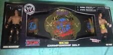 "NEW WWE/ECW JAKKS 2007 ""JOHN MORRISON & CM PUNK - TITLE BELT"" STILL SEALED MIB"