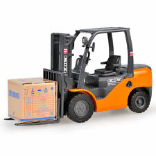 KDW 1:20 Diecast Forklift Truck Construction Vehicle Cars Model Toys Orange
