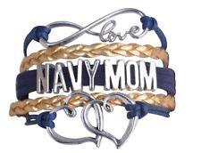 Navy Mom Jewelry - Navy Mom Bracelet - Perfect Gift For Navy Mom